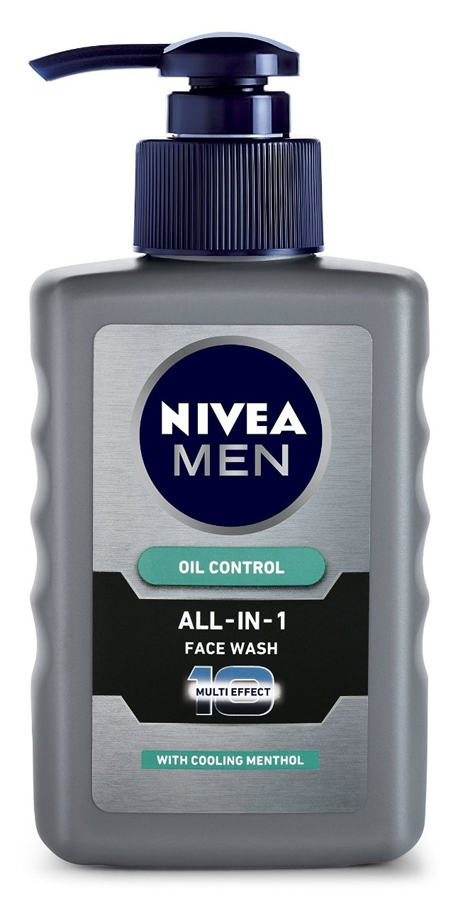 Nivea Men Oil Control All In One Face Wash Pump  available at Nykaa for Rs.97