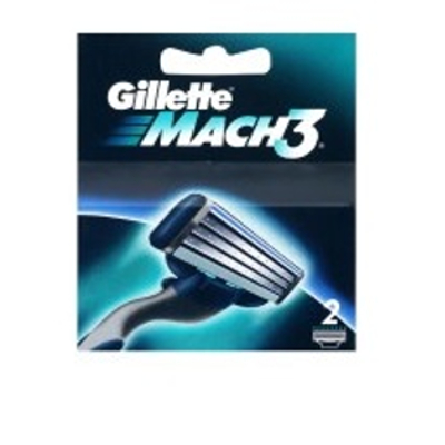 Gillette Mach 3 Manual  Shaving Razor Blades (Cartridge) 2s pack  available at Nykaa for Rs.255