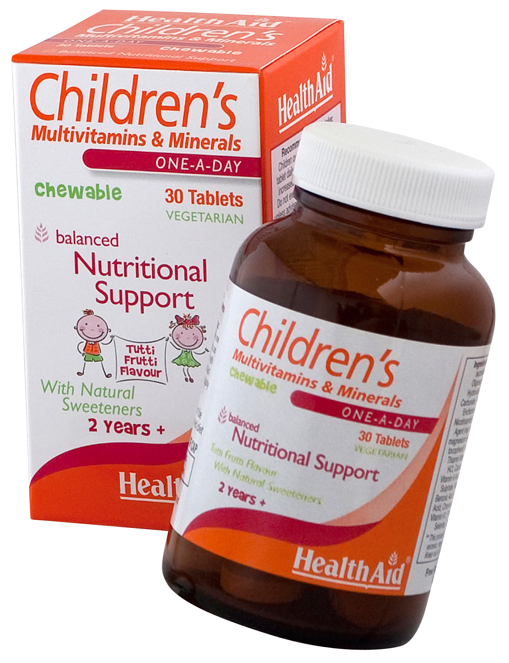 HealthAid Childrens MultiVitamins And Minerals - 30 Chewable Tablets  available at Nykaa for Rs.765