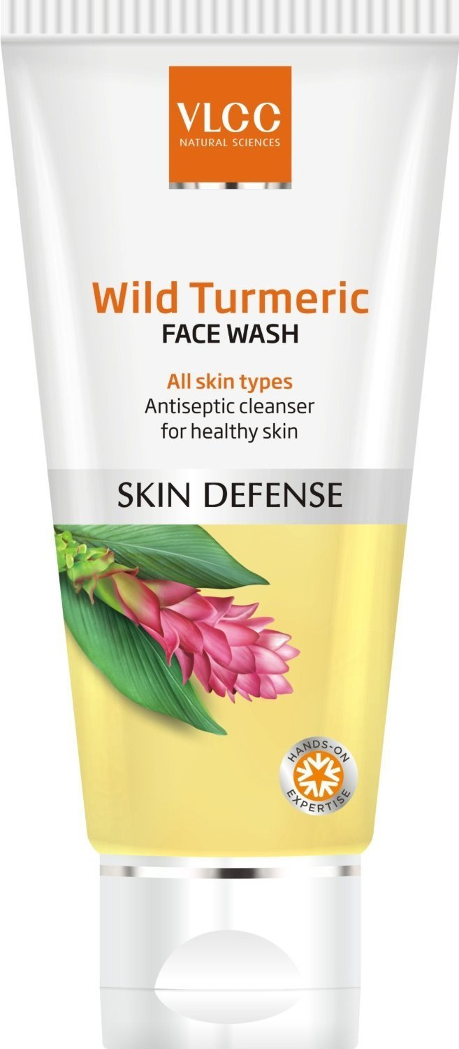 VLCC Wild Turmeric Face Wash  available at Nykaa for Rs.98