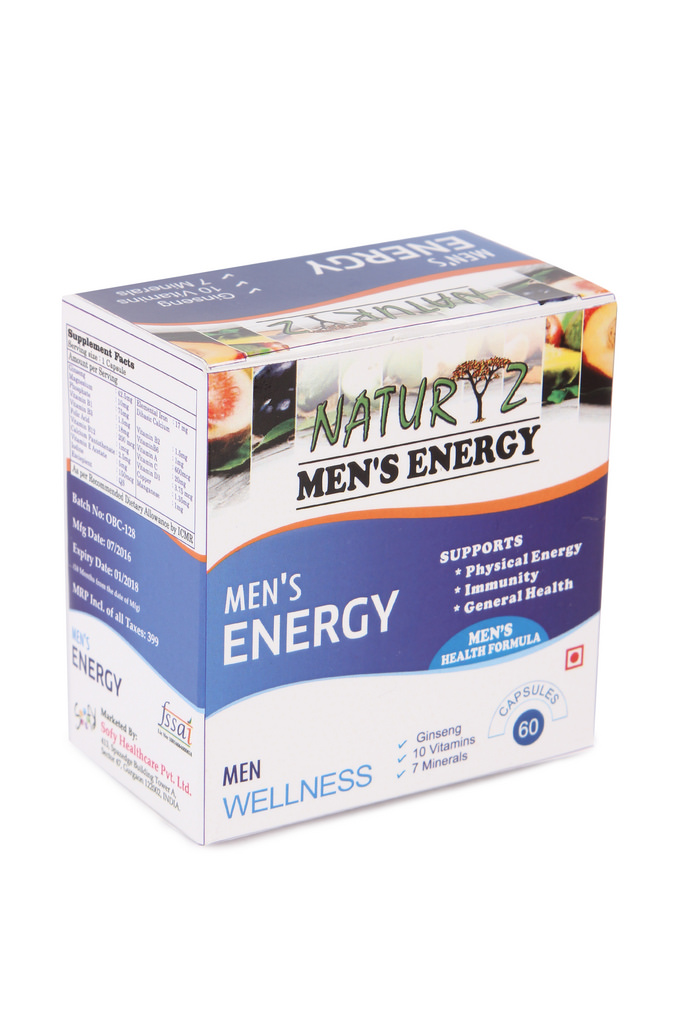 Naturyz Men's Energy multivitamin - 60 Capsules  available at Nykaa for Rs.299