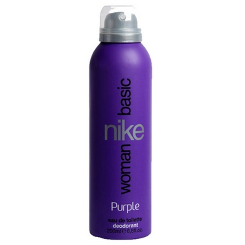 Nike Woman Basic Purple Deo Spray  available at Nykaa for Rs.249