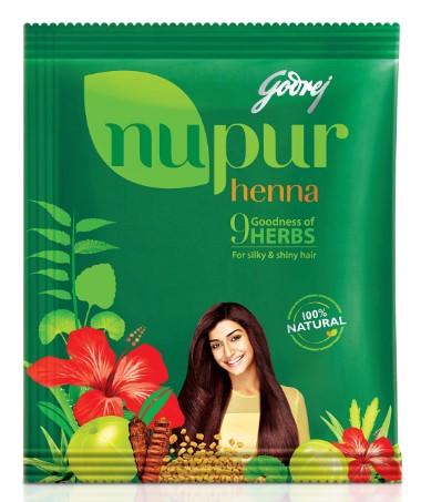 Godrej Nupur Henna  available at Nykaa for Rs.175