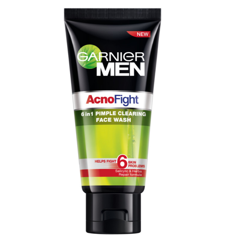 Garnier Men AcnoFight Face Wash  available at Nykaa for Rs.170