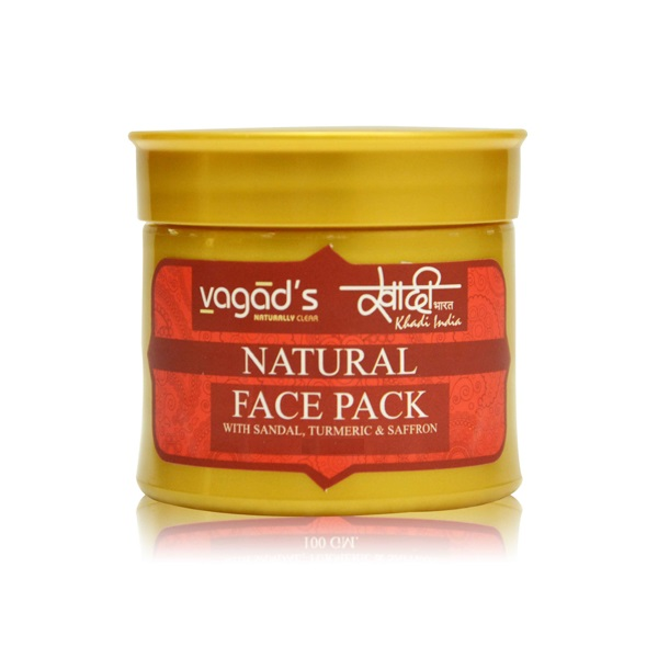 Vagad's Khadi Sandal Face Pack  available at Nykaa for Rs.78
