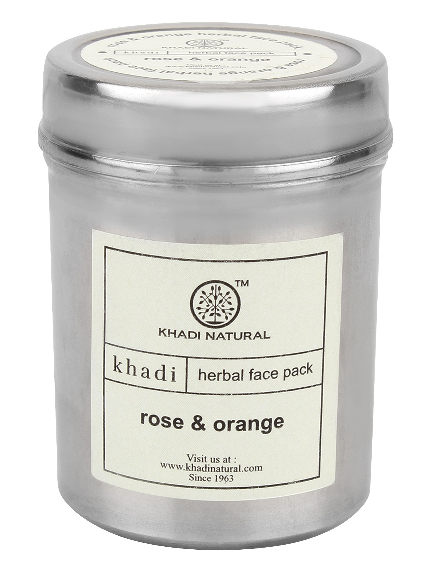 Khadi Natural Rose & Orange Herbal Face Pack  available at Nykaa for Rs.90