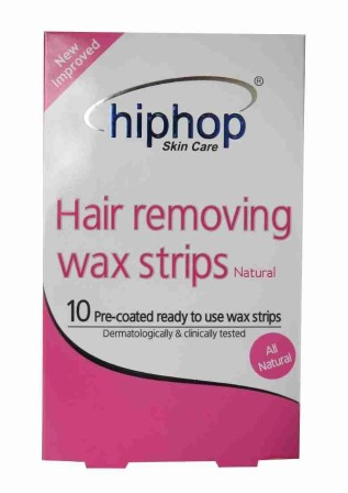 HipHop Natural Hair Removing Wax Strips  available at Nykaa for Rs.90