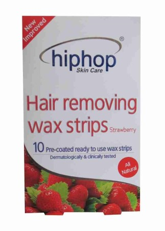 HipHop Strawberry Hair Removing Wax Strips  available at Nykaa for Rs.90