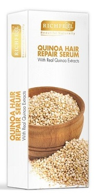 Richfeel Quinoa Hair Repair Serum  available at Nykaa for Rs.249