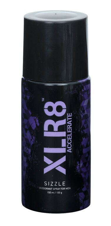XLR8 Sizzle deodorant Spary for Men  available at Nykaa for Rs.88