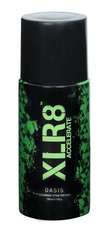 XLR8 Oasis deodorant Spary For Men  available at Nykaa for Rs.80