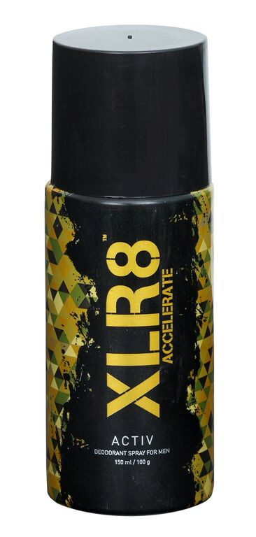 XLR8 Activ deodorant Spary for Men  available at Nykaa for Rs.88