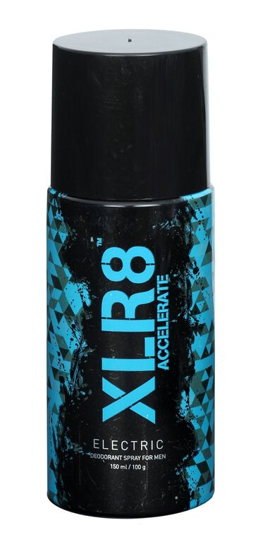 XLR8 Electric deodorant Spary For Men  available at Nykaa for Rs.80