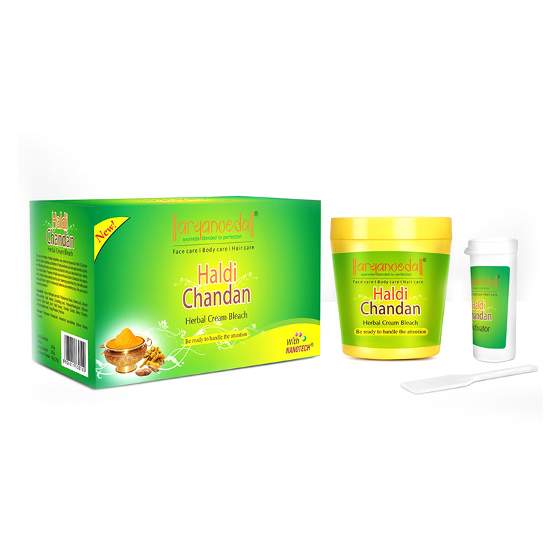 Aryanveda Haldi - Chandan Bleach Cream  available at Nykaa for Rs.190