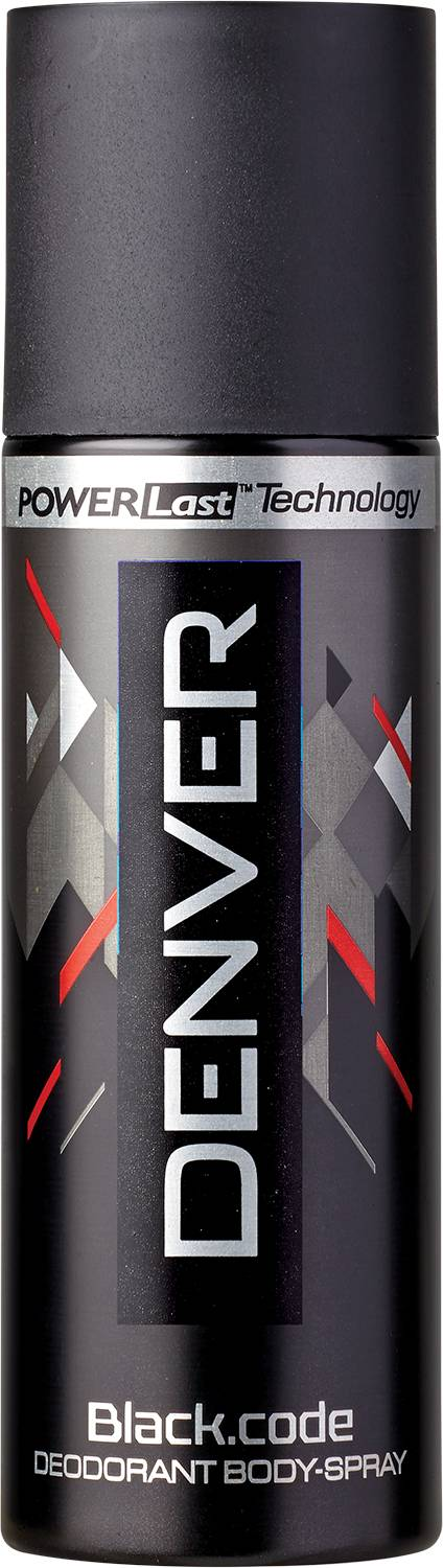 Denver Black Code Nano deodorant for Men  available at Nykaa for Rs.75
