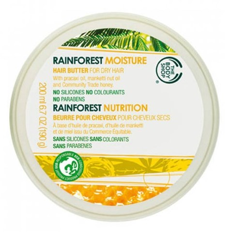 The Body Shop Rainforest Moisture Hair Butter  available at Nykaa for Rs.1095