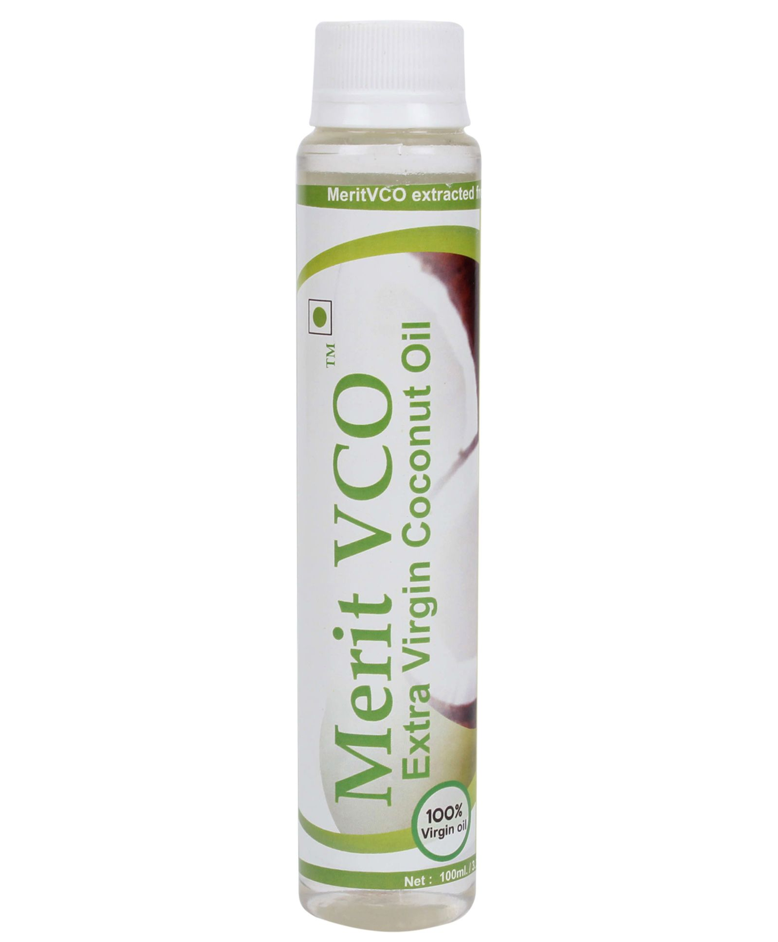 Merit Vco Extra Virgin Coconut Oil  available at Nykaa for Rs.110