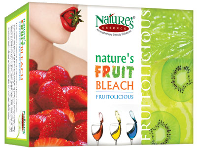 Nature's Essence Fruit Fun Fairness Bleach  available at Nykaa for Rs.175