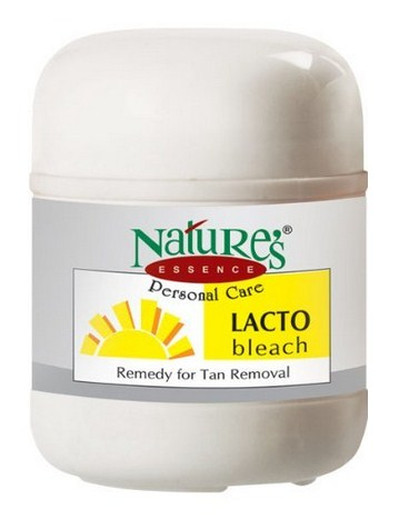 Nature's Essence Lacto Bleach  available at Nykaa for Rs.90