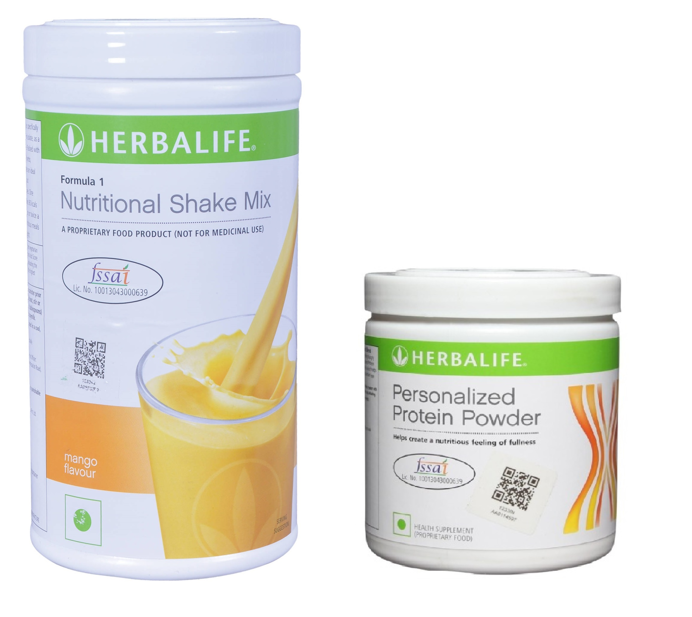 Herbalife Weight Loss Combo - Mango & Protein Powder  available at Nykaa for Rs.1709