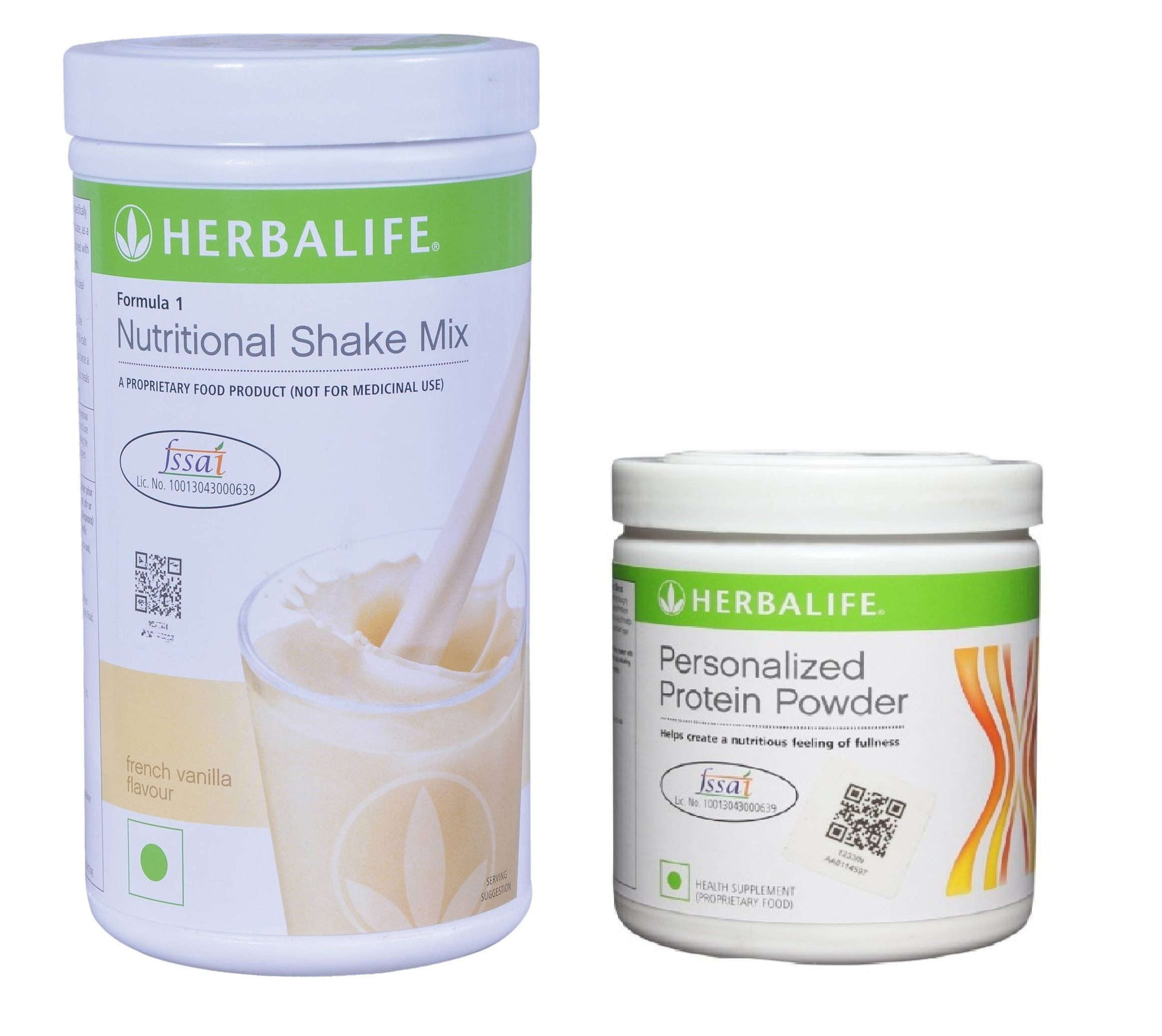 Herbalife Weight Loss Combo - French Vanilla & Protein Powder  available at Nykaa for Rs.1709