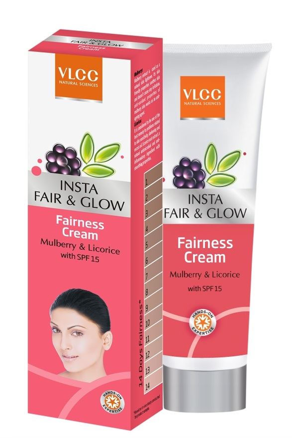 VLCC Insta Fair & Glow Fairness Cream  available at Nykaa for Rs.39
