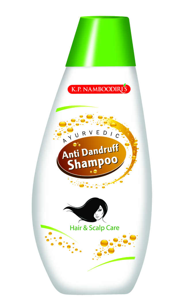 K.P. Namboodiri's Ayurvedic Anti Dandruff Shampoo  available at Nykaa for Rs.55