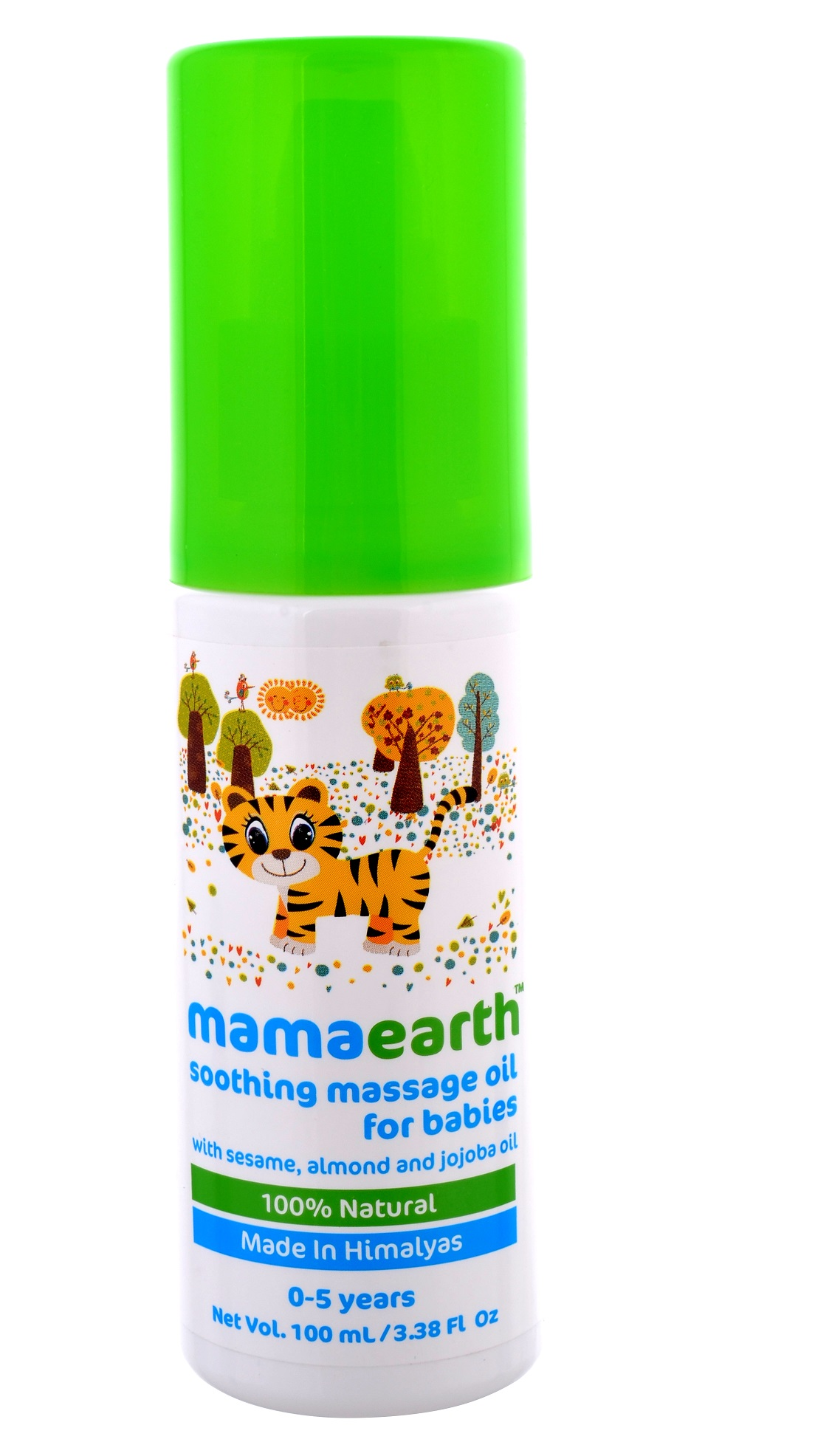 Mamaearth Soothing Massage Oil for Babies  available at Nykaa for Rs.299