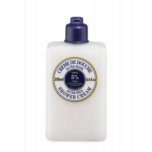 Buy L'Occitane Shea Butter Ultra Rich Shower Cream - Nykaa