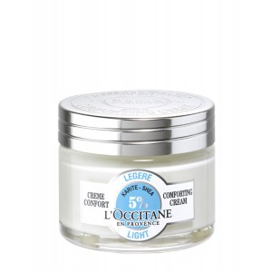 Buy L'Occitane Shea Butter Light Comforting Cream - Nykaa