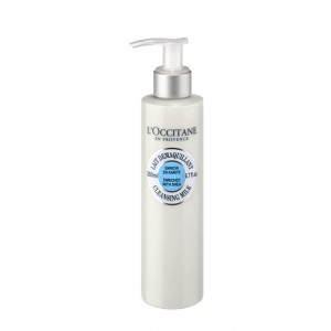 Buy L'Occitane Shea Butter Cleansing Milk - Nykaa