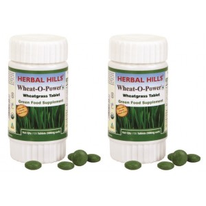 Buy Herbal Hills Wheat-O-Power Tablets (Buy 1 Get 1) - Nykaa