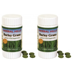 Buy Herbal Hills Barley Grass Tablets (Buy 1 Get 1) - Nykaa