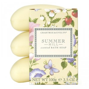 Buy Crabtree & Evelyn Summer Hill Soap Set (3 Pcs Set) - Nykaa