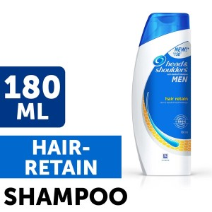 Buy Head & Shoulders For Men Hair Retain Shampoo - Nykaa