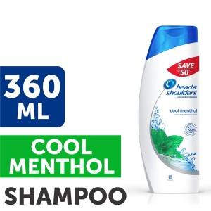 Buy Head & Shoulders Cool Menthol Shampoo Save Rs.50 - Nykaa