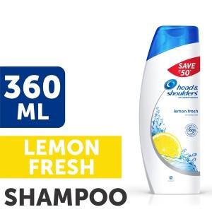 Buy Head & Shoulders Anti Dandruff Lemon Fresh Shampoo Save Rs.50 - Nykaa