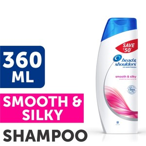 Buy Head & Shoulders Smooth & Silky Shampoo Save Rs.50 - Nykaa