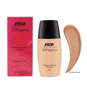 Buy Nykaa SKINgenius Sculpting & Hydrating Foundation - Nykaa