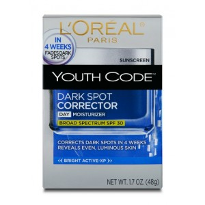 Buy Herbal L'Oreal Paris Youth Code Dark Spot Corrector Cream - Nykaa