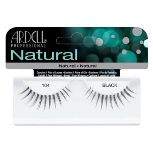 Buy Ardell Natural Strip Lashes - 104 Black - Nykaa