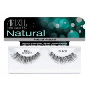 Buy Ardell Natural Strip Lashes - 120 Demi Black - Nykaa