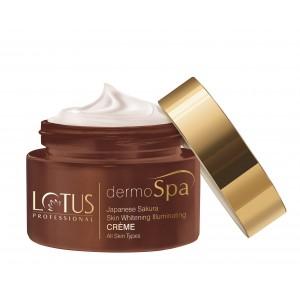 Buy Lotus Professional dermoSpa Japanese Sakura Skin Whitening & Illuminating Day Creme With Spf 20  - Nykaa