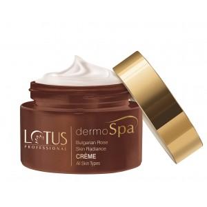 Buy Lotus Professional dermoSpa Bulgarian Rose Skin Radiance Creme With Spf 20 - Nykaa