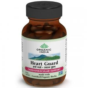 Buy Organic India Heart Guard Bottle (60 Capsules) - Nykaa