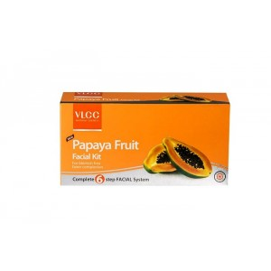 Buy VLCC Papaya Fruit Facial Kit - Nykaa