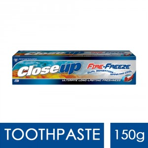 Buy Closeup Fire Freeze Toothpaste - Nykaa