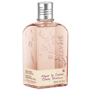 Buy L'Occitane Cherry Blossom Bath & Shower Gel - Nykaa