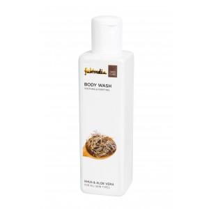 Buy Fabindia Khus & Aloe Vera Body Wash - Nykaa