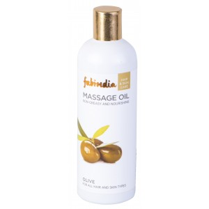 Buy Fabindia Olive Hair and Body Oil - Nykaa